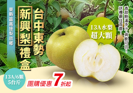 台中東勢新興梨禮盒