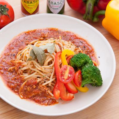 夢想家招牌番茄肉醬義大利麵