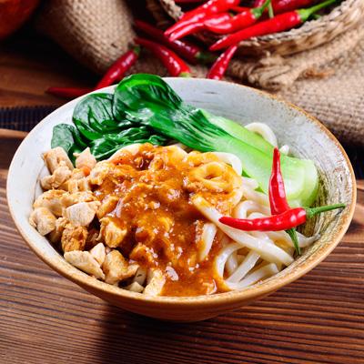 PONO巴蜀霸王辣椒雞醬麵(2包)