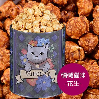 candice康迪斯手工爆米花-慵懶貓咪-花生 (320g±10g)