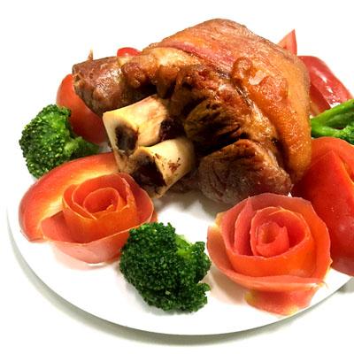 德國豬腳500g(贈蜂蜜芥末醬100g/包)
