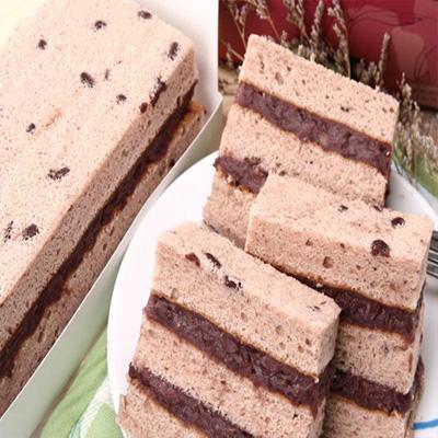 雙層紅豆蛋糕