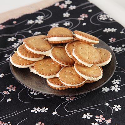 蕃薯島牛軋麥芽小圓餅-芒果