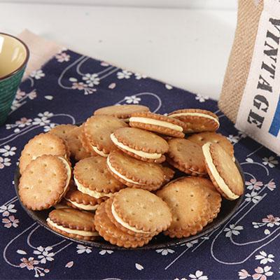 蕃薯島牛軋麥芽小圓餅-鳳梨
