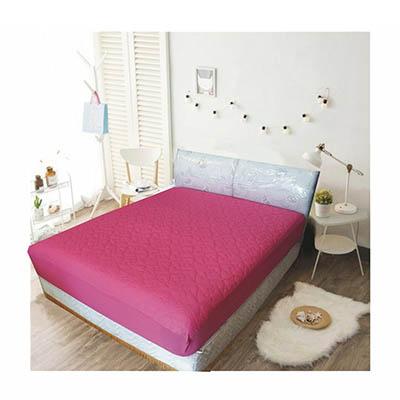3M 防潑水床包式保潔墊-雙人 [蜜桃色]