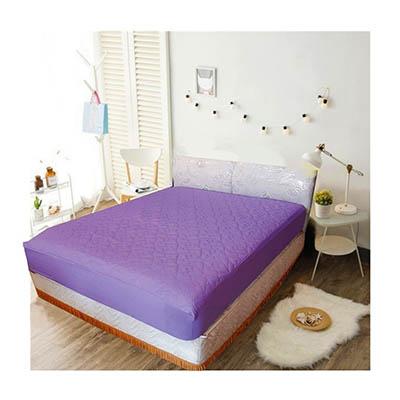 3M 防潑水床包式保潔墊-特大 [紫羅蘭]