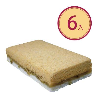 綠豆糕 (全素)6入