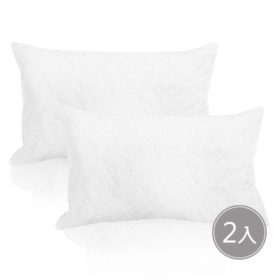 3M 防潑水枕頭套-2入
