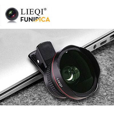 LQ-045-LIEQI 獵奇045 廣角鏡頭 [黑色]