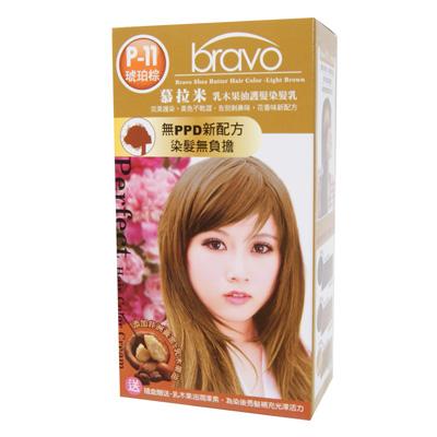 乳木果油護髮染 [琥珀棕*3盒]