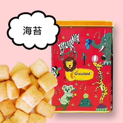 派對動物罐脆鬆餅塊 [海苔]
