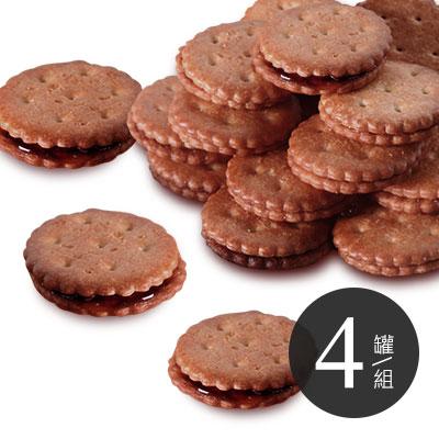 養生麥芽餅-黑糖 * 4