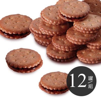 養生麥芽餅-黑糖 * 12
