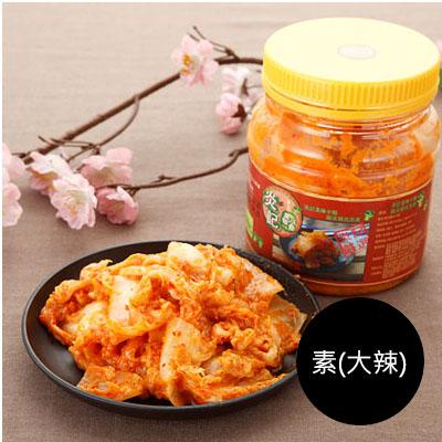 韓式腐乳泡菜600g(罐裝) [素-大辣]
