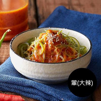 韓式腐乳海帶芽600g(罐裝) [葷-大辣]