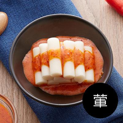 韓式年糕350g +調味醬70g(袋裝) [葷]