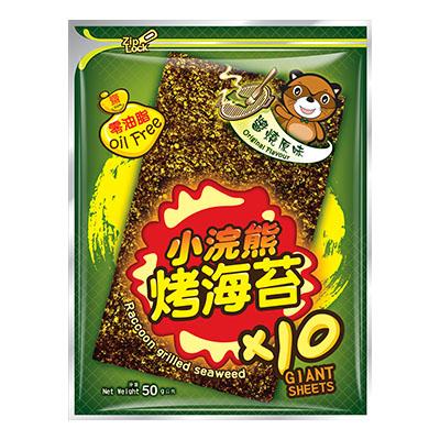 小浣熊烤海苔-醬燒原味