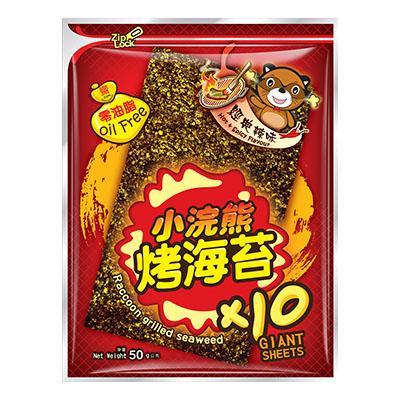 小浣熊烤海苔-經典辣味