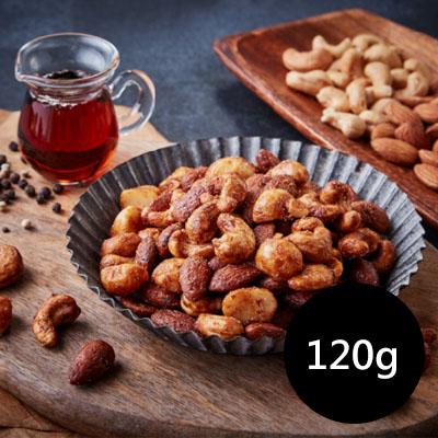 楓糖花椒綜合堅果120g