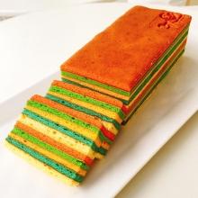 彩虹千層蛋糕