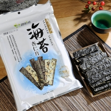 海苔脆片-原味海苔杏仁片