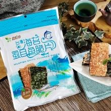 海苔脆片-海苔虱目魚脆片