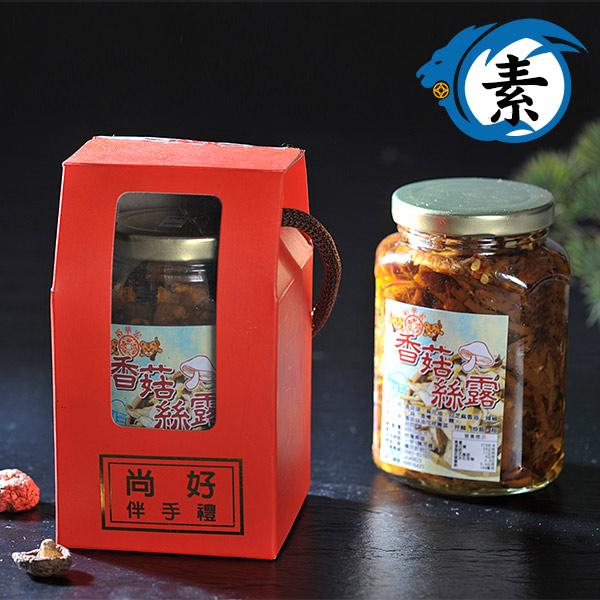 香菇絲露(素)(罐裝)600g-微辣