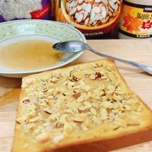 厚片吐司 - 楓糖杏仁脆片(3片)