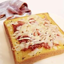 厚片吐司披薩 - 法式洋蔥培根(3片)
