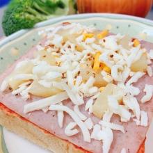 厚片吐司披薩 - 夏威夷(3片)