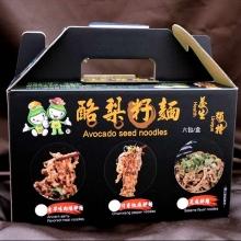 酪梨籽拌麵綜合口味6包/盒