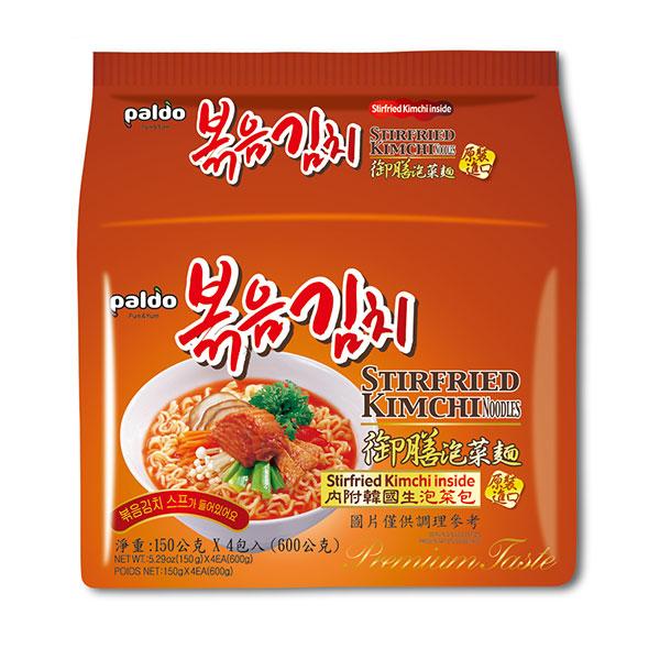 Paldo八道御膳泡菜拉麵(4包/袋)