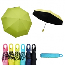 快收可扣式抗風防曬晴雨傘 [亮綠]