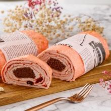 法式雙莓蛋糕千層捲