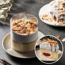 最〝爆棚〞香草草莓泥石流蛋糕