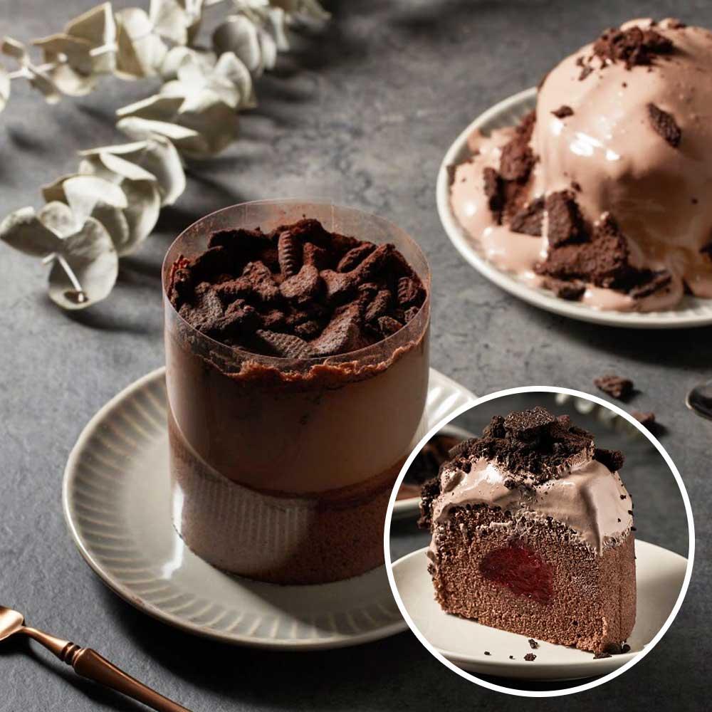 最〝爆棚〞OREO巧克力泥石流蛋糕