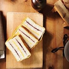北極星藍莓起士三明治
