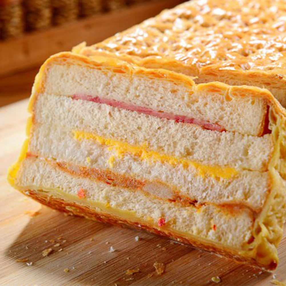 泰式檸檬雞起酥火腿三明治