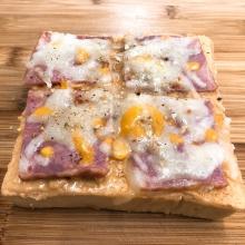 厚片吐司披薩 -花生培根起司(3片)