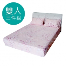 MIT 3M 涼感天絲(薄)床包三件組-雙人5尺 [巴山夜雨]