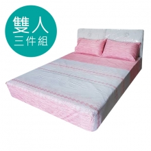 MIT 3M 涼感天絲(薄)床包三件組-雙人5尺 [思英]