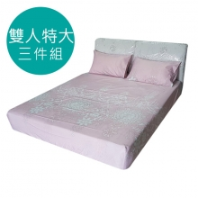 MIT 3M 涼感天絲(薄)床包三件組-雙人特大6*7尺 [夢時光]