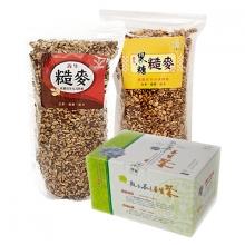 黑糖糙麥+糙麥+陽光石蓮養生茶包