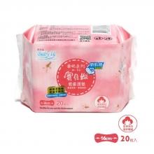 寶貝妳-親膚衛生護墊 16CM(20枚X3入組)