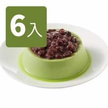 抹茶紅豆烤布丁(6入)