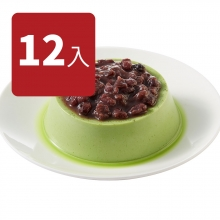 抹茶紅豆烤布丁(12入)
