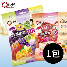 糖之鄉蒟蒻果凍綜合包(芒果+葡萄+鳳梨)