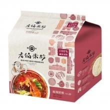 【老鍋米粉】-純米麻辣鮮蝦湯米粉(4包)