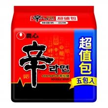 農心辛拉麵5入(超值包)