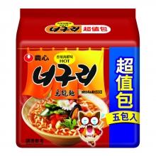 農心香辣海鮮烏龍麵5入(超值包)